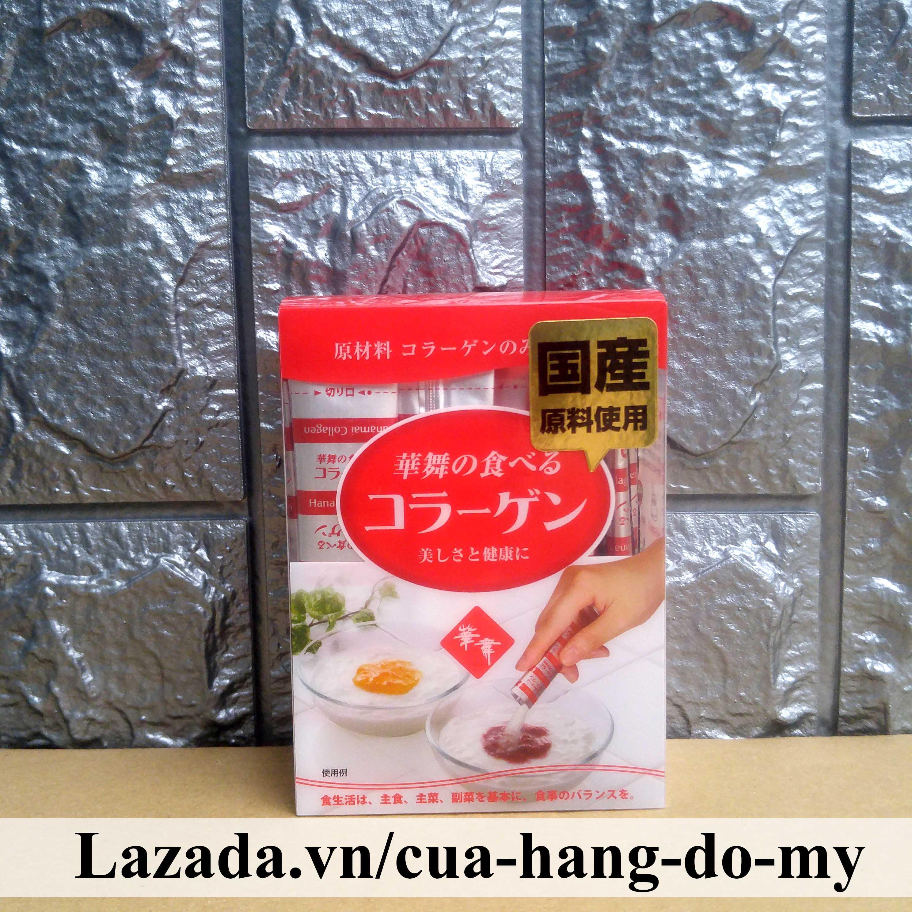 Giá Quá Tốt Để Có Bột Collagen Hanamai Tinh Chất Từ Da Heo Hanamai 30 Gói Nhỏ