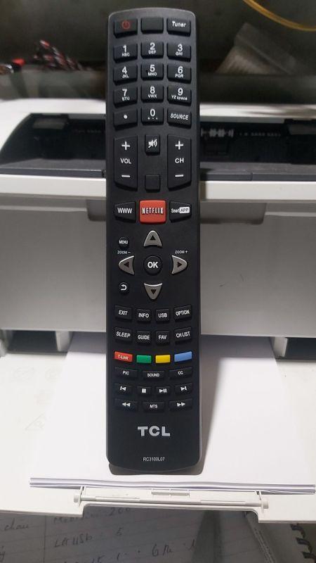 Bảng giá khiển tivi TCL chính hãng to