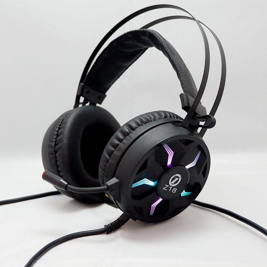 Tai nghe chơi game chụp tai (Headphone Gaming) Z18 LED RGB