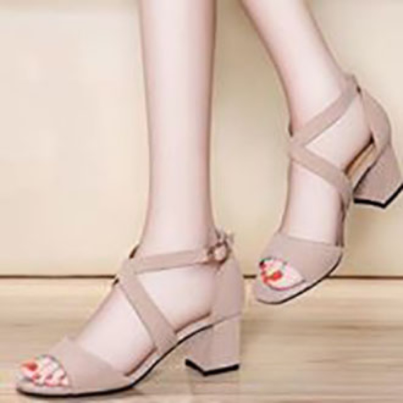 Giày Cao Gót 7phan Quai Ngang Bản Chéo giá rẻ