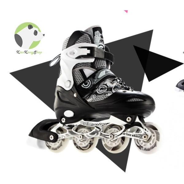 Phân phối Giày patin longfeng 906 có thể điều chỉnh to nhỏ giành cho trẻ em và người lớn