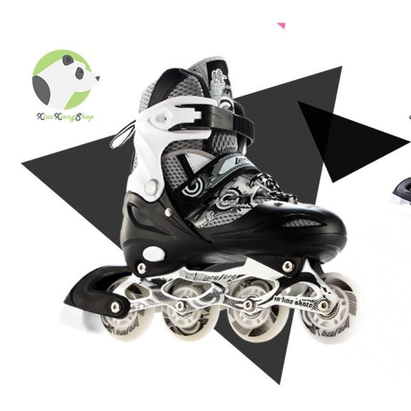 Mua Giày patin longfeng 906 có thể điều chỉnh to nhỏ giành cho trẻ em và người lớn
