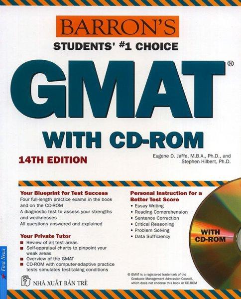 Mua Sách - Barrons GMAT - 14th edition
