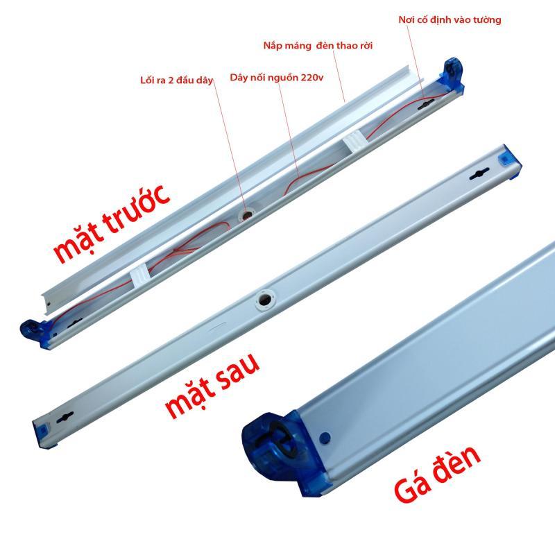 bộ 40 máng đèn led 1.2 mét