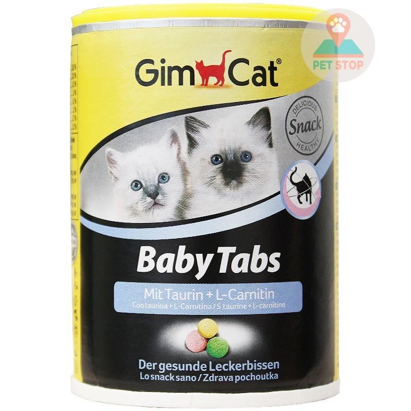 Vitamin cho mèo Gimcat Baby Tabs - 240 viên