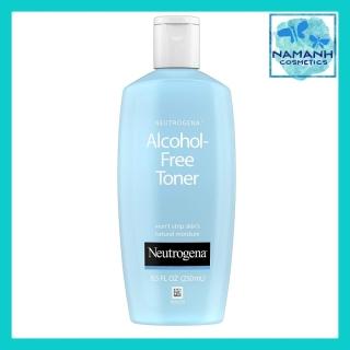 Nước hoa hồng làm sạch và phục hồi da, không gây mụn, hấp thụ nhanh Neutrogena Oil- and Alcohol-Free Facial Toner, Hypoallergenic Skin Purifying Face Toner, 250mL-8,5 fl. Oz thumbnail