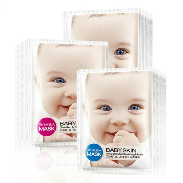 12 mặt nạ baby skin dưỡng trắng tái tạo da chuyên sâu Bioaqua
