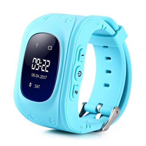 Đồng hồ định vị trẻ em sử dụng SIM, nút bấm gọi khẩn cấp, GPS (xanh) 1000002165 bán chạy