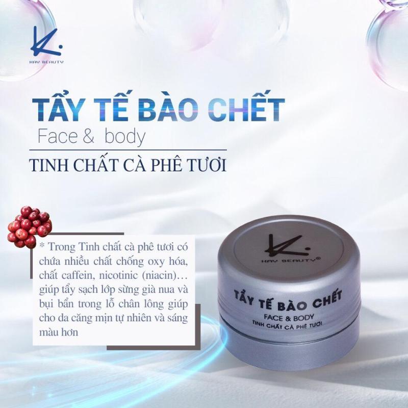 Kem Tẩy Tế Bào Chết KAY Tinh Chất Cafe Face & Body