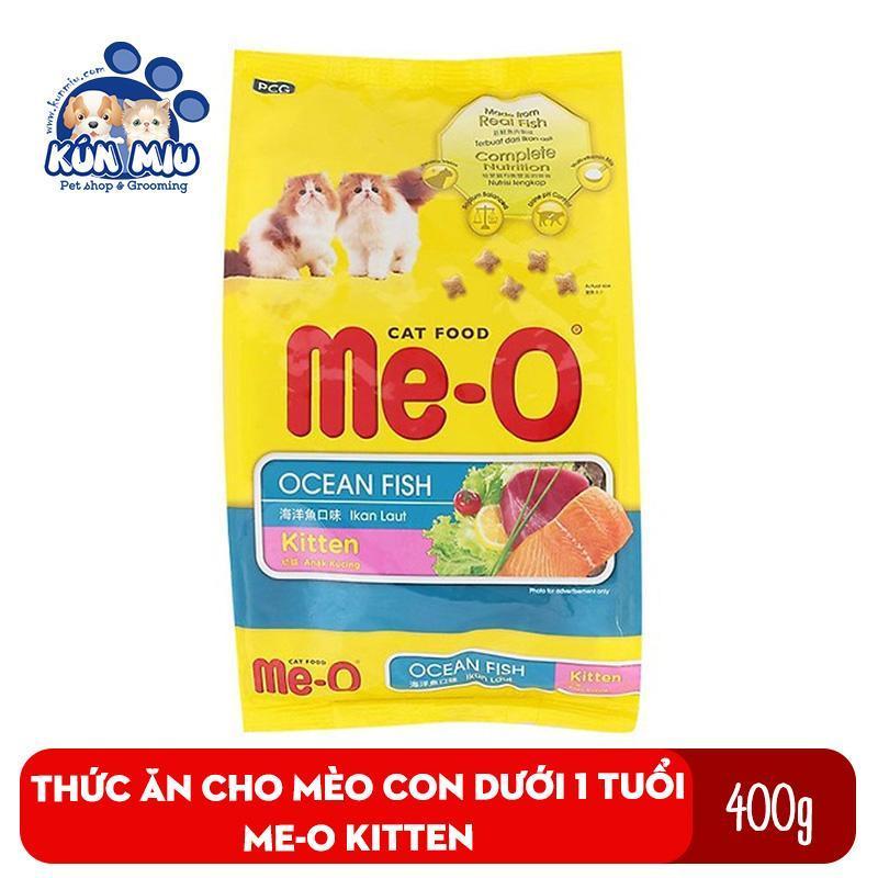 Thức ăn cho mèo con dưới 1 tuổi Me-O Kitten túi 400gr