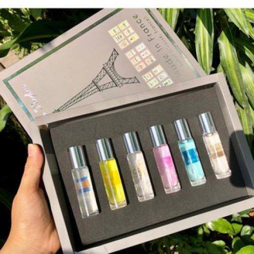 Set nước hoa 6 chai hình tháp bí quyết đơn giản để mình trở nên lôi cuốn, quyến rũ và gợi cảm mọi lúc, mọi nơi cao cấp