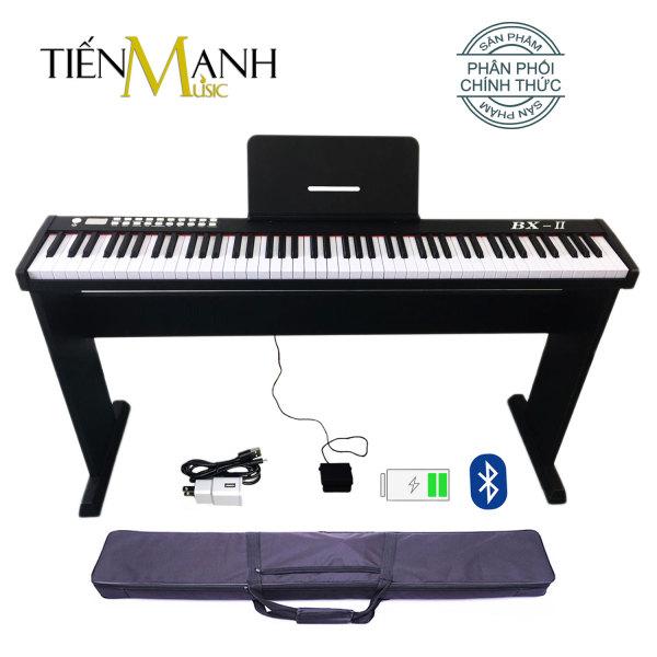 Bộ Đàn Piano Điện Bora BX-II - Kèm Chân Gỗ, Giá Để Bản Nhạc - 88 Phím nặng Cảm ứng lực BX-02 - Midi Keyboard Controllers BX2