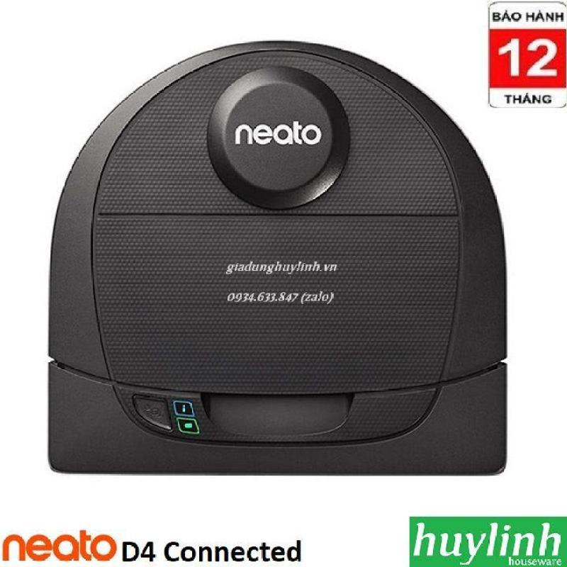 Robot hút bụi Neato D4 Connected - Điều khiển Smartphone - Chính hãng