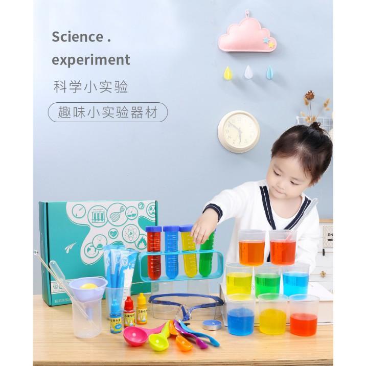 Bộ Kit Cho Bé Làm 30 Thí Nghiệm Khoa Học Cho Bé Giá Cực Ngầu