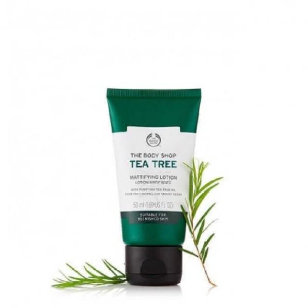 Kem dưỡng ẩm THE BODY SHOP Tea Tree Skin Mattyfying Lotion 50ml giá rẻ