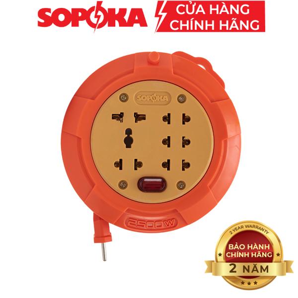 Bảng giá Ổ cuốn dây lõi sứ SOPOKA R45 dây 4,5 mét chịu tải cao
