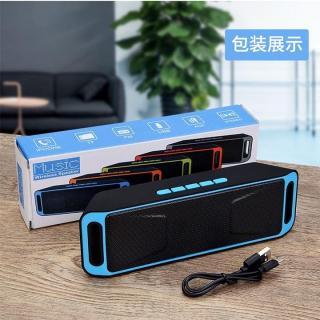 Loa Bluetooth Không Dây SC208 Máy Tính Mini Dual Loa Di Động Nhỏ Stereo Xe Hơi Loa Siêu Trầm thumbnail