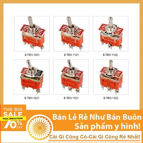 Bảng giá Công Tắc Gạt Đôi E-TEN 1322 15A/250V 3 Chế Độ ON-OFF-ON 6P