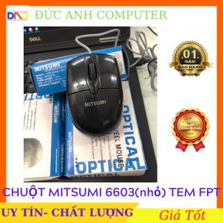 Chuột MITSUMI 6603 Tem FPT -Cổng Kết Nối USB- Full box thumbnail