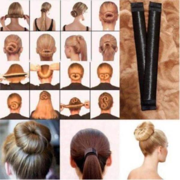 Thanh Búi Tóc Tạo 16 Kiểu tóc, thời trang, năng động, Dụng cụ búi tóc, Thanh Búi tóc củ tỏi, Tạo kiểu tóc vòng tròn
