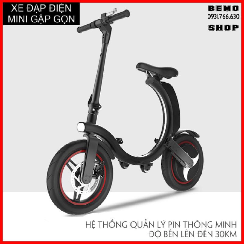 Phân phối [ CỰC PHẨM ] Xe đạp điện mini có thể gấp gọn, Công suất 450W bánh 14 inch