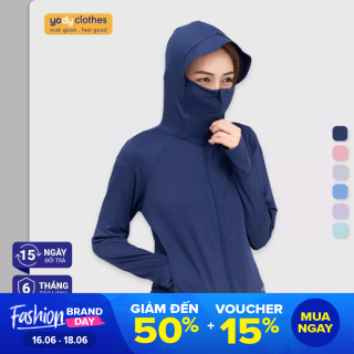 Áo chống nắng Yody nữ Cản tia UV mềm mịn thoáng mát ACN4002 thumbnail
