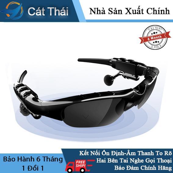 Giá Tai nghe thông minh Wang Hung Cát Thái nhiều chức năng không dây mắt kiếng phân cực mắt râm kèm tai nghe nhét tai
