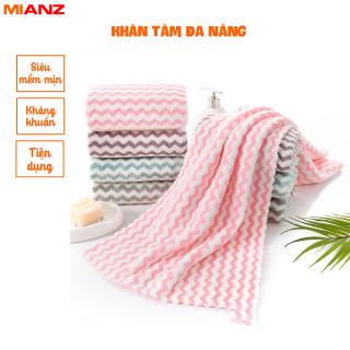 Khăn tắm, khăn mặt xuất Hàn - Mềm mịn, Siêu thấm hút 30cm x 50cm Kaizo Mart thumbnail