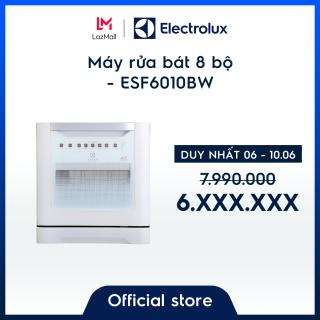 Máy rửa bát 8 bộ Electrolux ESF6010BW– Thiết kế nhỏ gọn – Màu trắng hiện đại - Hàng chính hãng