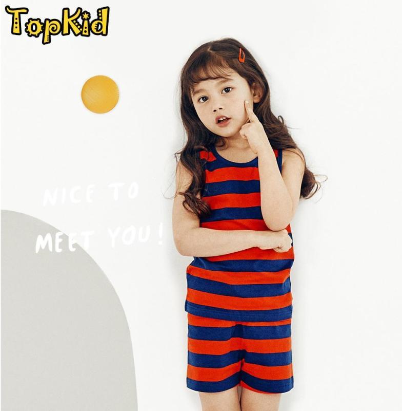 Nơi bán Bộ đồ bé gái KẺ ĐỎ thương hiệu Unifriend Hàn Quốc 2020, hàng chính hãng , 100% sợi Organic Cotton , mềm mại, thoáng mát, TOPKID