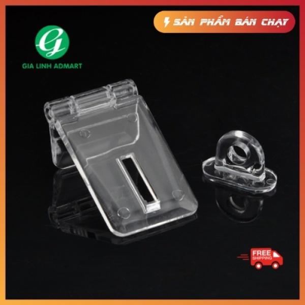 [HCM][SP Hot] bộ khoá chốt cửa nhựa mica trong suốt làm tủ hộp thùng phiếu
