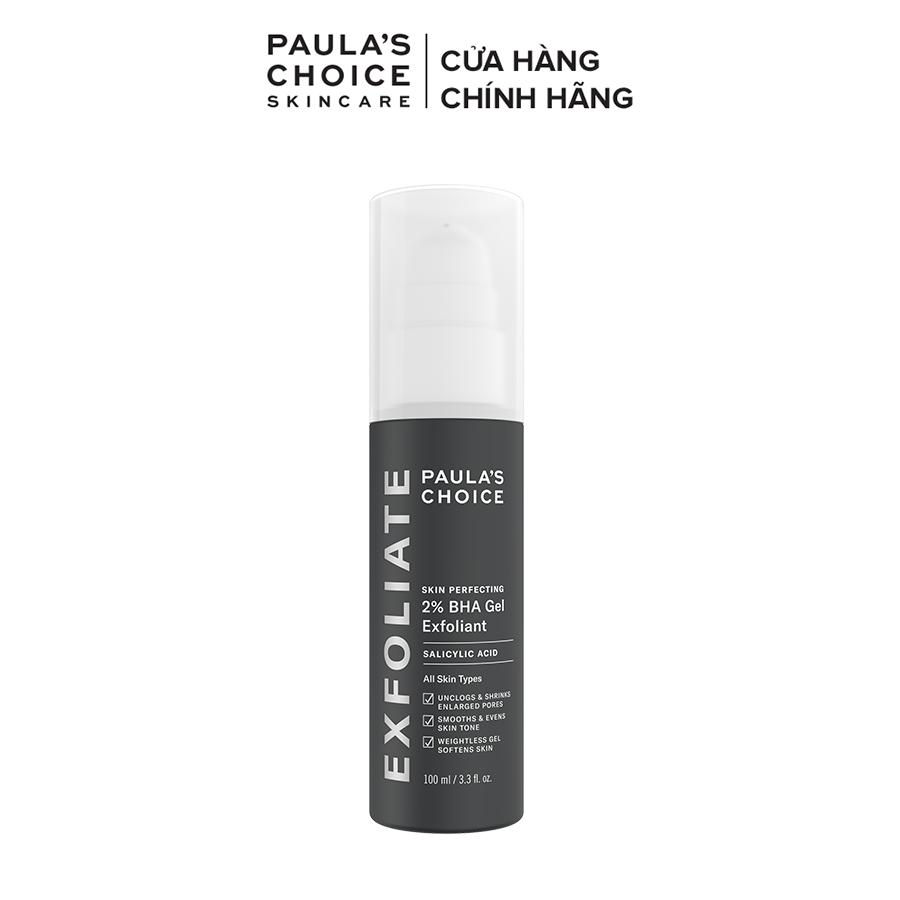 Gel loại bỏ tế bào chết Paula's Choice Skin Perfecting 2% BHA Gel Exfoliant 100ml