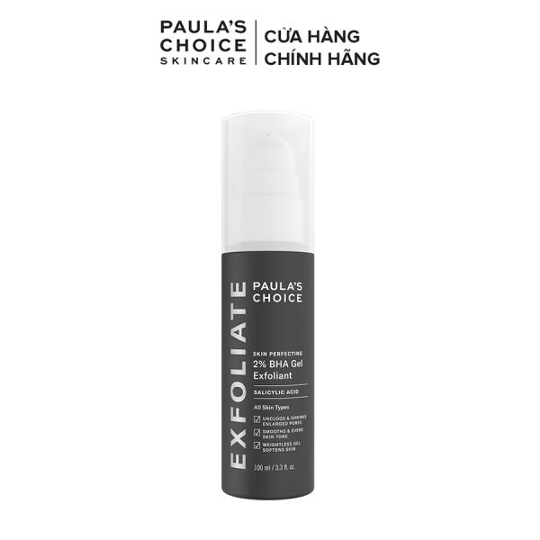 Gel loại bỏ tế bào chết Paula's Choice Skin Perfecting 2% BHA Gel Exfoliant 100ml-2040 nhập khẩu