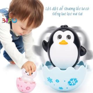 Đồ chơi lật đật trứng dễ thương có âm thanh lục lạc vui nhộn nhiều mẫu cho bé yêu vui chơi an toàn thumbnail