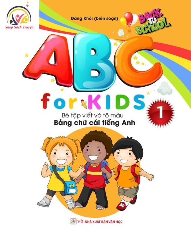 Mua Sách ABC For Kids Q1 – Bé Tập Viết Và Tô Màu Bảng Chữ Cái Tiếng Anh