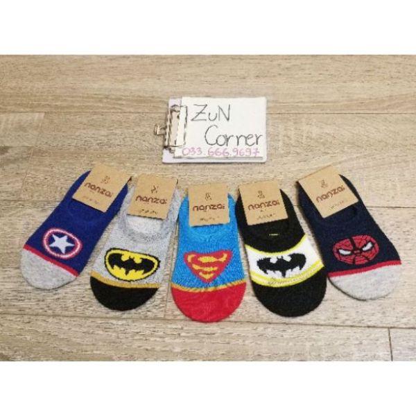 Giá bán Set 5 đôi tất siêu anh hùng cho bé trai