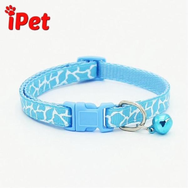 [Lấy mã giảm thêm 30%]Vòng Cổ Lục Lạc Rằn Ri Cho Chó Mèo Từ 1 - 5kg - iPet Shop