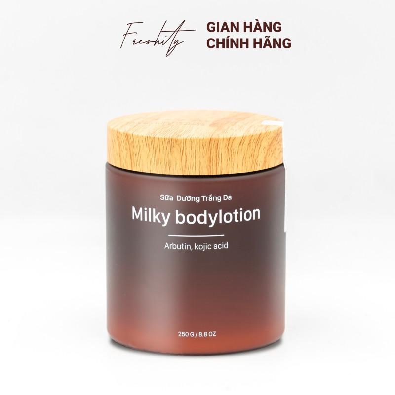 [HCM]Sữa dưỡng trắng da - Freshity Milky Body Lotion cao cấp