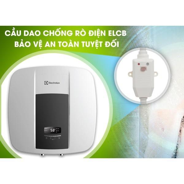 Bảng giá Máy nước nóng gián tiếp có remote Electrolux EWS302DX-DWE 30 lít 2500W - Made in Vietnam (Màu trắng) - KHÔNG KÈM VÒI SEN