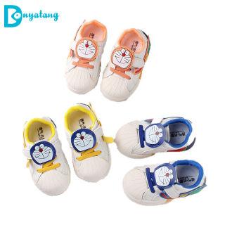 Giày Bé Trai, Giày Trẻ Tập Đi Chống Trượt Nhẹ Cầu Vồng Mới 1-3 Năm