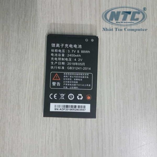 Pin phụ kiện phát wifi LTE A800/ A900/ M80/ M89/ M88/ M90/ M100 dung lượng 2400mAh (Đen)  - Nhất Tín Computer