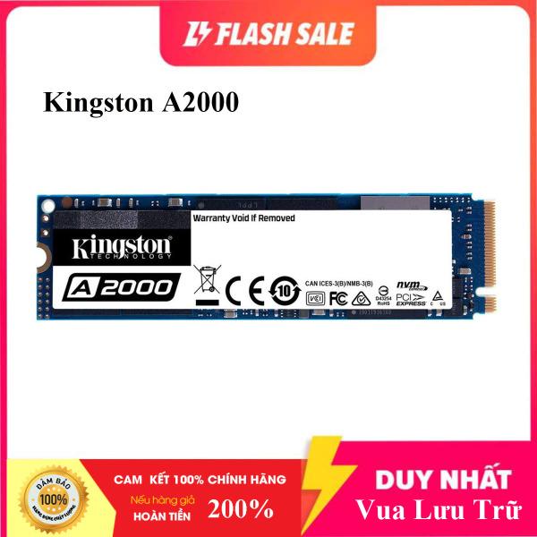 Bảng giá [Shop Mới] Ổ Cứng SSD M2 Kingston A2000 M.2 PCIe Gen3 x4 NVMe 250GB SA2000M8/250G - Hàng Chính Hãng Phong Vũ