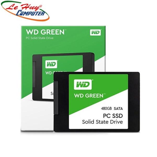 Bảng giá Ổ Cứng Ssd 480G Western Green Sata Iii 6Gb/S (Wds480G2G0A) Phong Vũ