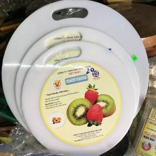 HÀNG CAO CẤP Thớt Nhựa Tròn Việt Nhật thumbnail