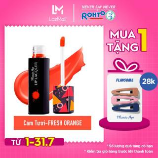 Son kem bóng Miracle Apo Lip Lacquer Fresh Orange 3ml (Cam tươi) thumbnail