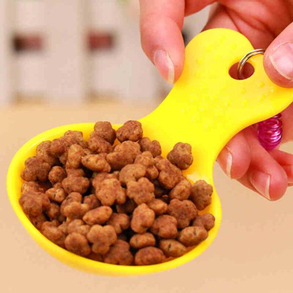 Muỗng múc hạt size mini cho chó mèo