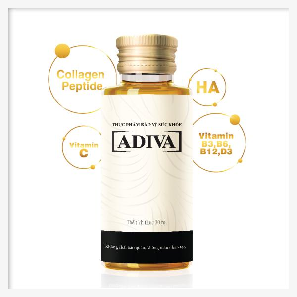 Collagen Adiva (Hộp 14 chai x 30ml) - Tự tin cho làn da tươi trẻ giá rẻ