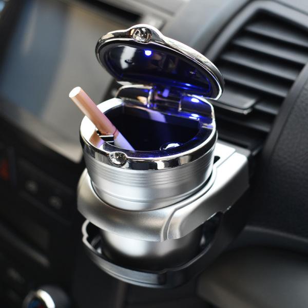 Cốc gạt tàn cao cấp có đèn Led trên xe hơi ô tô