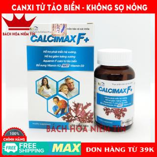 Combo 2 hộp Viên Uống Bổ Sung Canxi, Vitamin D3, Vitamin K2 Calcimax F+ Phát triển hệ xương, chắc khỏe xương, giảm loãng xương - Hộp 30 viên Sử dụng cho bà bầu, trẻ em và người lớn thumbnail