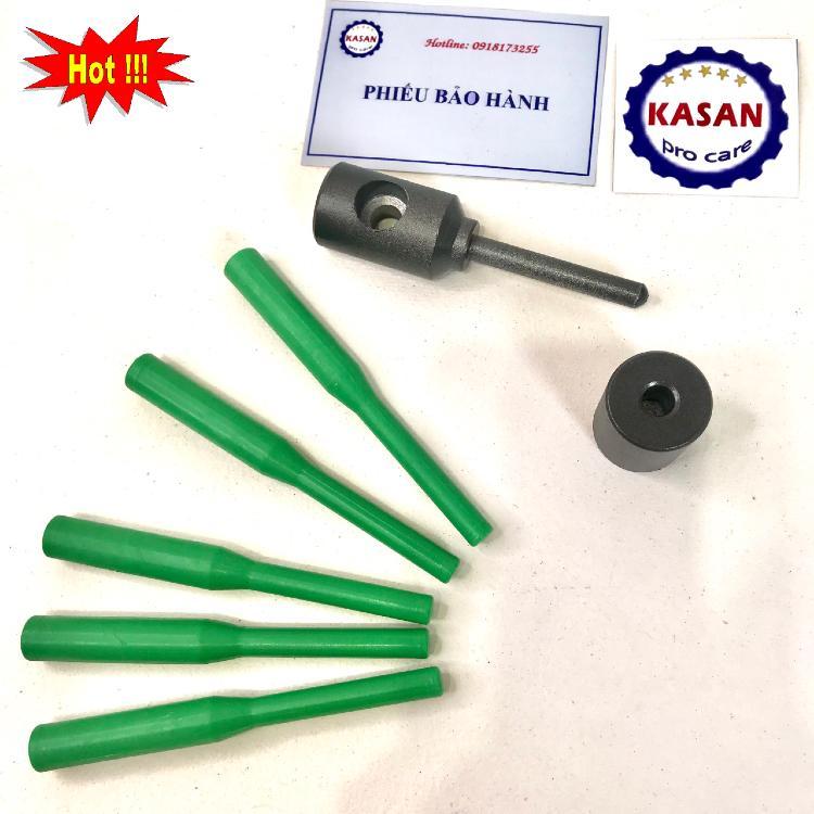 Đầu hàn khắc phục sự cố thủng ống ppr, tiện lợi , nhanh chóng, tặng kèm 5 que hàn